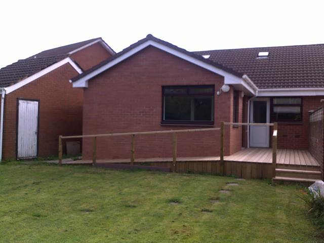 Simple rear extension