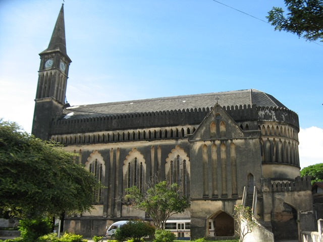Cathedral prior to start of project